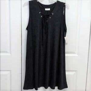 Bobbie Brooks Casual Dress Size 2X Black New